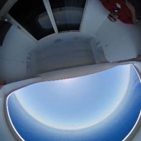 The cove balcony of cabin 9054 on the MSC Divina! #theta360