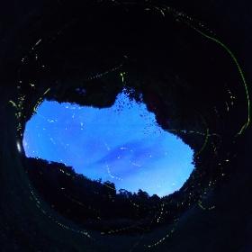 やっと、イメージどおりの写真を撮影することが出来ました。 #ホタル #theta360