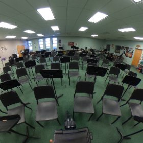 Pacifica High School - band room