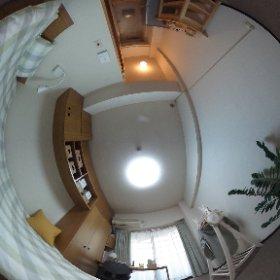 360°のパノラマ画像でモデルルームを紹介するにゃ!