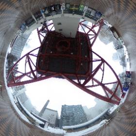 さっぽろテレビ塔真下 #まるちゃん写真集  #まるちゃん北海道旅行 #theta360