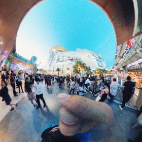 A Pokemon evening at Siam Paragon #theta360
