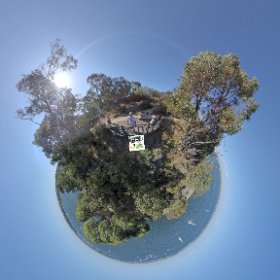 360 spherical Dryandra Lookout is a small chill zone, at the South West Escarpment of Kings Park, views across Swan river, SM hub https://linkfox.io/LLHNY BEST HASHTAGS  #DryandraLookoutWA    #KingsParkWA  #Butterfly3d #theta360