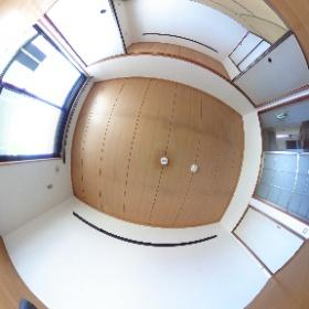 鹿児島市南新町 ガーデンハイツ202 海が見える3DKの和洋室。詳細はエム管理不動産HPまで! #theta360