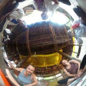 Been invited by monks for a meal in their temple :) #theta360