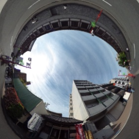 川崎大師北側にある馬頭観音堂(神奈川)。  photo : 360度カメラ研究会(http://camera-360do.com/) by ほーりー