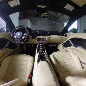 360 degree view of 2015 Ferrari F12 Berlinetta interior