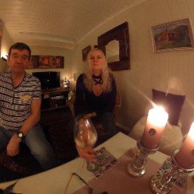 Tusen takk for en hyggelig helg! I Rakkestad hos janne og Lars. #theta360