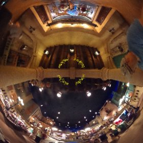 Inside the Mexican Pavalion at EPCOT.  May 2014 Photo by DisneyDad #GrowingUpDisney  #theta360