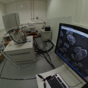 Take a tour of the @EMSTP @TheCrick - the FEI Quanta scanning electron microscope with DELMIC SECOM integrated super res stage