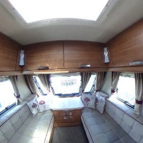 Elddis Affintiy 550 2013 - fixed island bed and Alde heating system. Living area 360. Just £11995 #caravanforsale
