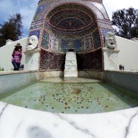 Replica of a fountain in Pompei. #theta360