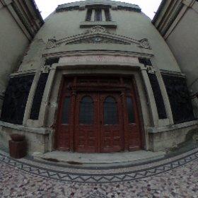 Intrare - Crematoriul Cenusa