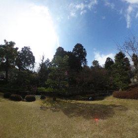 半兵衛庭園。 #theta360