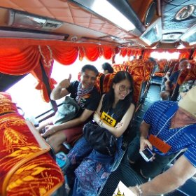 Kru Por Oct 2018 Farm trip Pathum Tanni, Bus INTRODUCTIONS, activities media hub https://goo.gl/4jEc2c  BEST HASHTAGS  #BusintroductionsOct2018 #TravelMeetLocalsBkkAdventureOctober018 #theta360