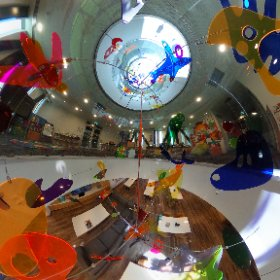 A pano of the awesome skylight at Ronald McDonald House, Perth