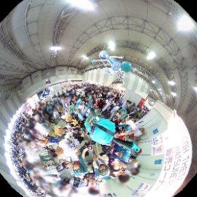 ミクさんも雪ミクさんもミクシータ持って撮影してる♡ アリガトーーー☆☆ #theta360