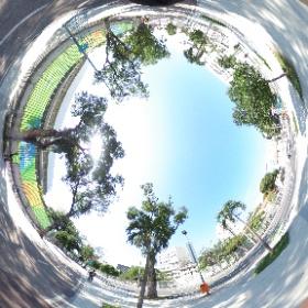#リオオリンピック #開会式前 の #マラカナンスタジアム #theta360