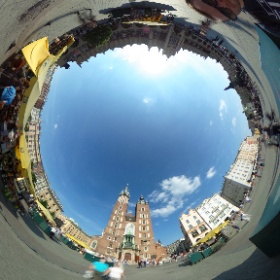 Szykując się do premiery @goforguide patrzymy na #Krakow w 360 stopni #PrzewodnikOsobisty goforguide.com #theta360