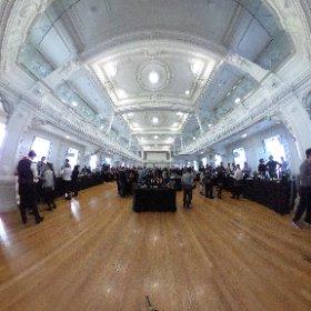 Salon des vins d'importation 2016, virtualtour 360° en direct 😊 #theta360