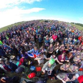 Invigningen av Jamboree17 #theta360