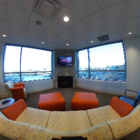 The view from one of our patient community rooms. #theta360