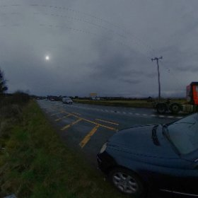 11 Weeks | One Of Us | On the road between Claregalway and Galway | 23rd March 2018 | #loveboth #prolife #rain3d #theta360