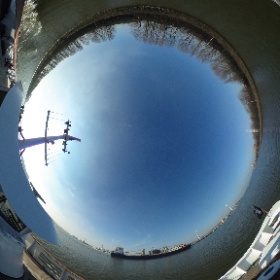 Boatride without lenseflare #gent #ghent  #theta360