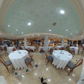 Hotel Le Royal Hammamet @bluebayhotels #BBtripTunez Restaurante Buffet #theta360