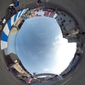 第3回香住ジオパークフルマラソン大会、続々選手の皆さんが集まってます! #theta360