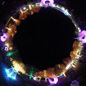 Erster Abend der 3. Lichterwoche in Büsum
