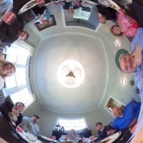 Alexa's First Communion Dinner 360 Picture