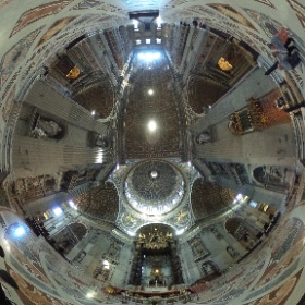 St Peter's Basilica #theta360