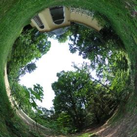 Das verlassene Teehaus im Jansen-Park in Hameln. 👉 www.dewezet.de