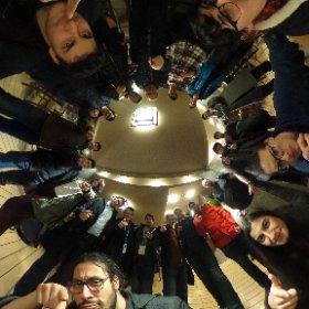 After dinner 360 degree photo at 49 Kebab restaurant in Ankara, great food, amazing people #mobiledays @ieebilkent #theta360