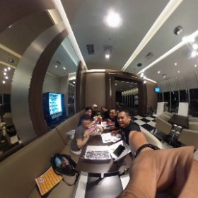 Meeting with people from Bangkok Comic Con for the upcoming #JakartaComicCon2015 @JKTComicCon at JCC Kemayoran!! #theta360