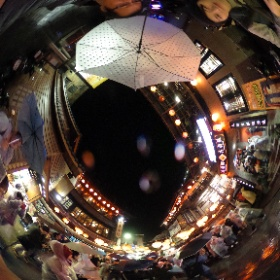 20180101九份老街(with Yuri Kono) #theta360