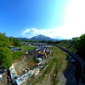 削られし山  いつか無くなってしまうのかな。。。武甲山  #RICOH THETAで撮る、360°で残したい日本の風景  #武甲山 #神奈備 #石灰岩 #採掘  #埼玉 #秩父 #横瀬 #横瀬大橋 #theta #theta360  #theta360