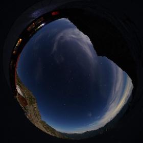 北アルプス 穂高岳山荘にて #theta360