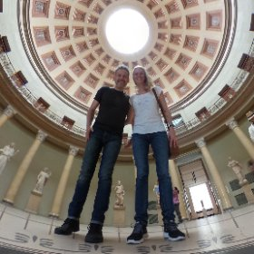 A day of culture!  (and yes, we behaved like angels...😃) #theta360