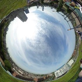 Skyline #rotterdam #360view #theta360