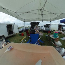 John Buckley prepping his model at NARAM 58. #theta360