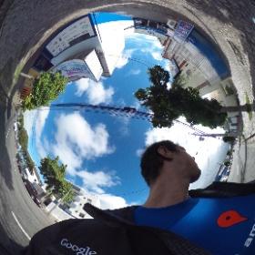 Foto 360° tirada em Frente a empresa AirHal em Curitiba