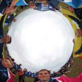 Flaggscoutet på #Jamboree17 #theta360