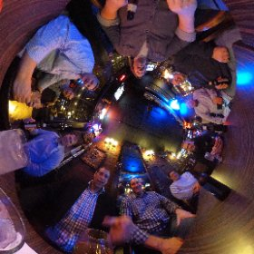 Hanging out in our old stomping grounds - Krueger's after 25 years! #theta360
