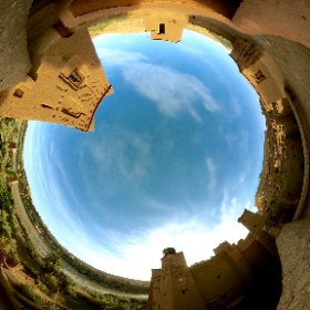 View from one of our Terrace on the top of the Kasbah #kasbahtebi #Guesthouse #aitbenhaddou #Morocco #360