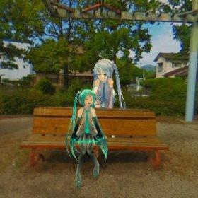 福岡県糟屋郡志免町 志免鉄道記念公園 #miku360 #theta360