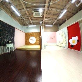 エフィ宝塚改装新スタジオ #theta360