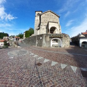 Chiesa di S.Nicolao Quarna sotto #theta360 #theta360it