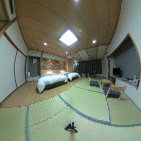 7月後半からの夏休み、お盆期間も、こんな素敵な【禁煙和洋室】が、ご用意可能です。 快適な空間で、のんびりゆっくりとご滞在ください。  http://www.sinappi.jp/ #theta360
